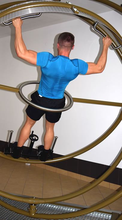 trenażer żyroskop sportowy AD-LIBITUM 5