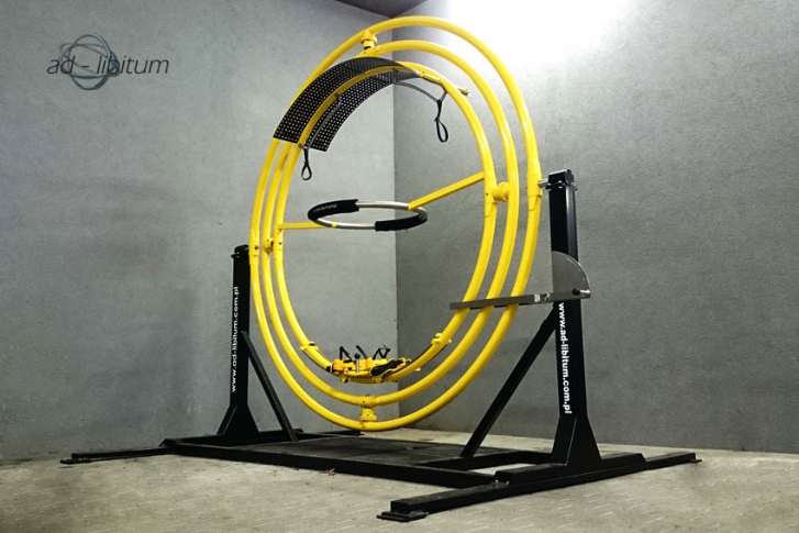 trenażer żyroskop sportowy AD-LIBITUM 13